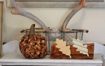 The Autumn (Fall) Sideboard Display...