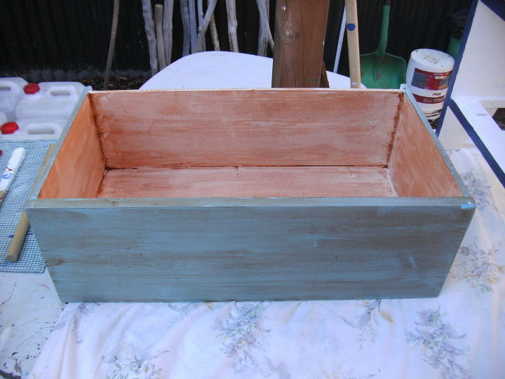 banged up dresser re do, diy, painted furniture, woodworking projects