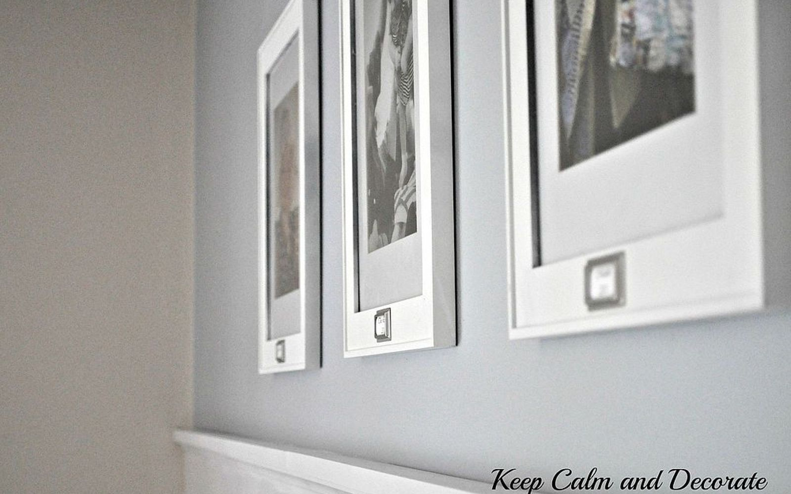 s 14 hidden home decor gems you can find in any dollar store, home decor, repurposing upcycling, Plain picture frames make designer galleries
