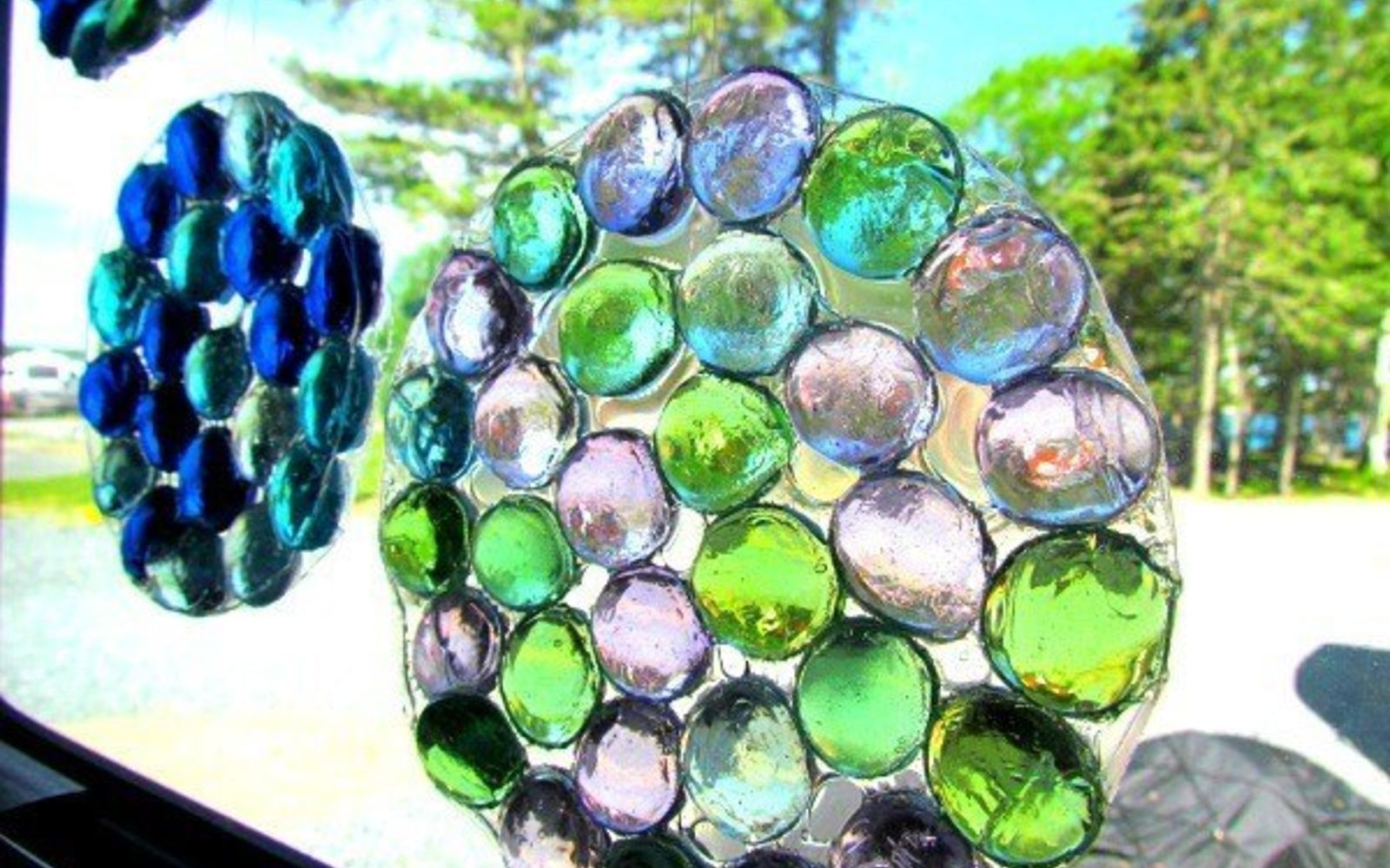 s 14 hidden home decor gems you can find in any dollar store, home decor, repurposing upcycling, A bag of glass gems can light up a room