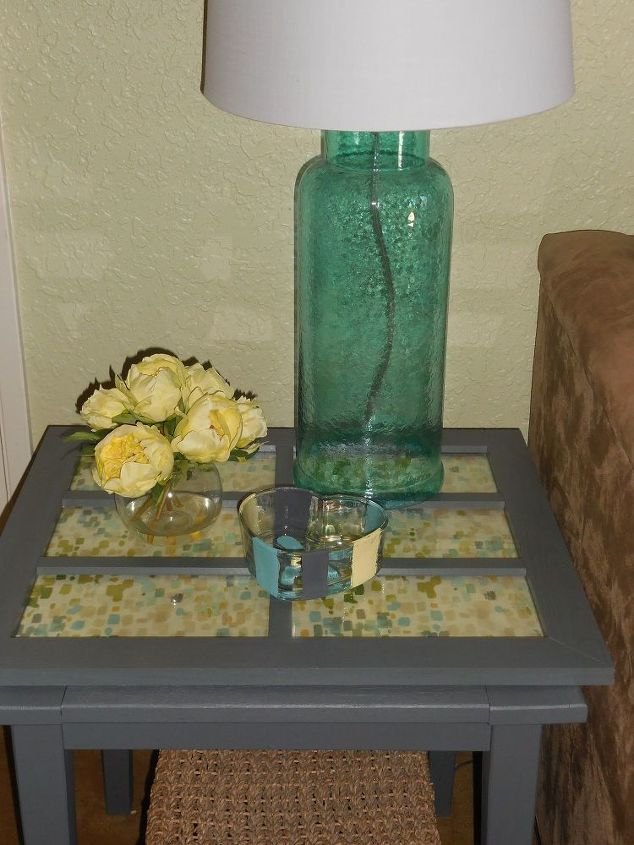 Upcycled Glass Door Hometalk