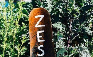 garden shovel sign, crafts, gardening, repurposing upcycling