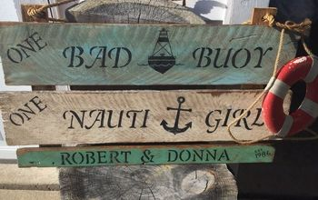 cabin sign your neighbors will want, crafts, how to, wall decor