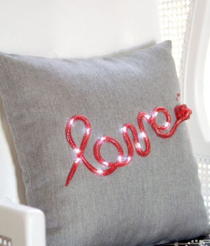 s 15 heartwarming homemade gifts your mom will absolutely adore, crafts, seasonal holiday decor, Turn a pillow into a declaration of love