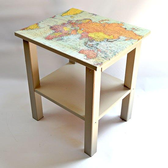 World Map Glass Desk Ikea. ikea map table hack  decoupage how to painted furniture Ikea Map Table Hack Hometalk