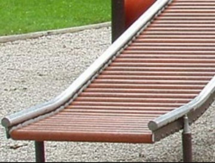 q what is best way to create a roller slide, outdoor furniture, Picture of a roller slide at a playground