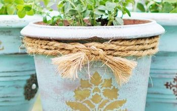 DiY: Flower Pot Makeover