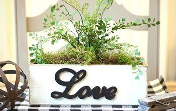 DIY 'LOVE' Wood Box