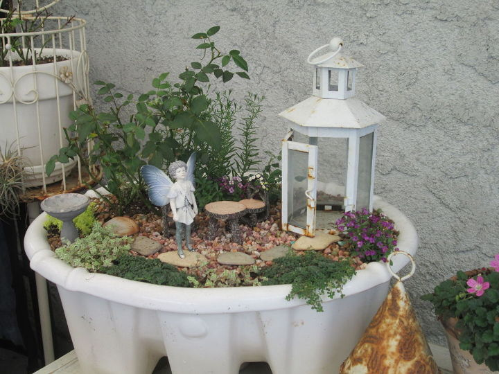 dianes fairy garden collection, crafts, gardening