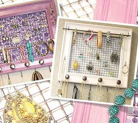 Picture Perfect Wooden Frame Jewelry Organizer Hometalk