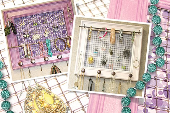 http blog woodcraft com 2016 04 picture frame jewelry organizer , crafts, organizing, repurposing upcycling