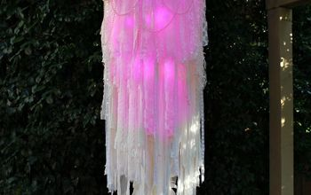 Light-up Boho Chandelier