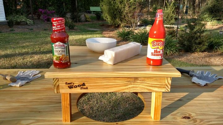 oyster table, outdoor furniture