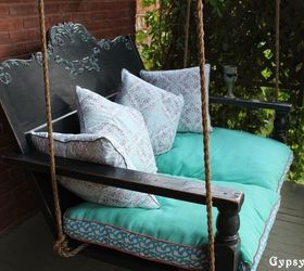 Awesome Make A Soothing Porch Swing From Old Scraps Part 19