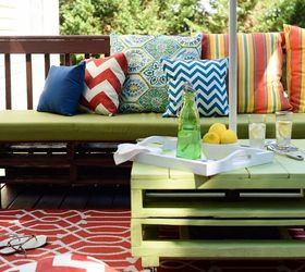 Build Simple Patio Furniture Out Of Pallets