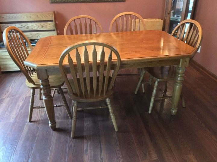Ideas To Paint My Oak Table And Chairs Hometalk