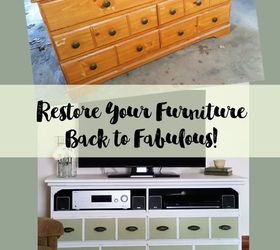 Dresser To Tv Stand A Fabulous Restore , Bedroom Ideas, Painted Furniture