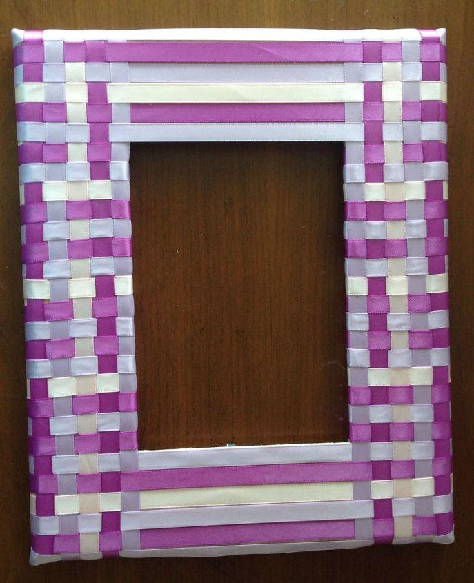 Woven Ribbon Frame - DIY | Hometalk