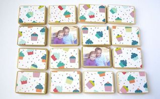 make a kids matching game, crafts, decoupage, how to