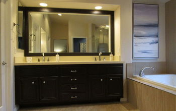 master bath makeover from dated to dazzeling on a dime , bathroom ideas, home decor, AFTER
