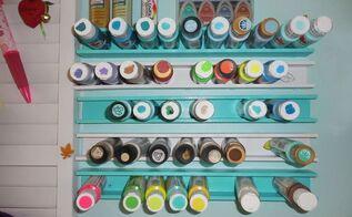 paint storage, craft rooms, organizing, storage ideas