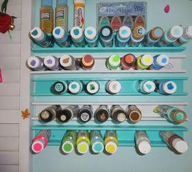 paint storage craft rooms organizing storage ideas & Paint Storage With Paint Sticks! | Hometalk