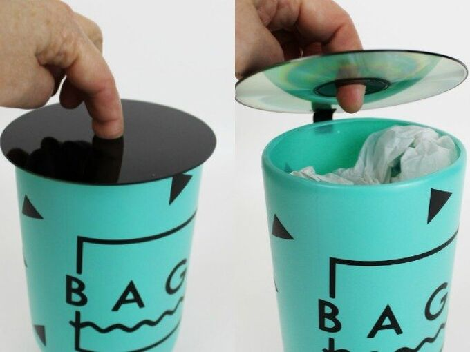 plastic bag dispenser from a soda bottle cd, crafts, organizing, repurposing upcycling
