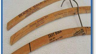 , Wooden hangers