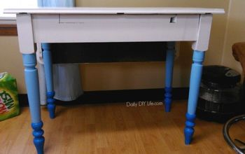 Elegant Office Desk Makeover! Loving New Chalk Paints