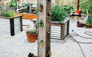 diy homegrown strawberry tower, container gardening, fences, gardening, how to