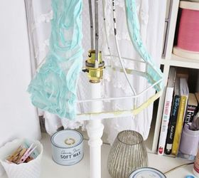 Marvelous How To Make A Shabby Chic Lampshade And Distressed Lamp Base, How To,  Lighting