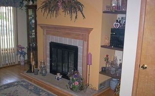 fireplace redo, diy, fireplaces mantels, home improvement