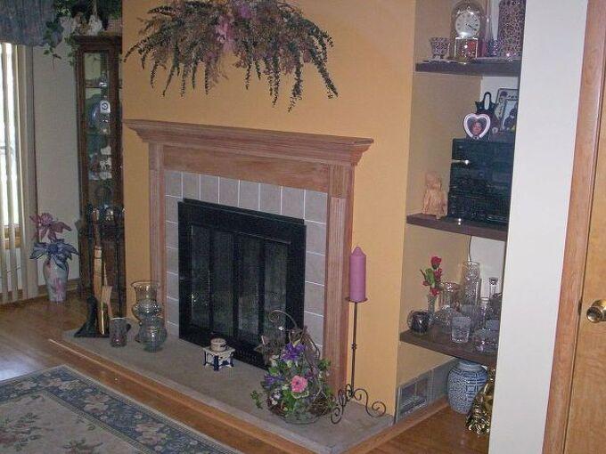 fireplace redo, diy, fireplaces mantels, home improvement