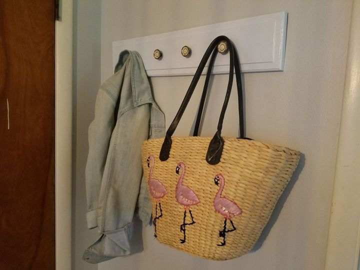 a 2 mudroom made from junk, diy, foyer, home maintenance repairs, repurposing upcycling