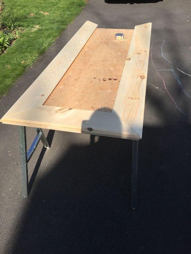 DIY Large Leaning Floor Mirror | Hometalk