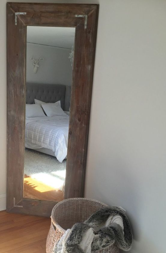 DIY Large Leaning Floor Mirror | Hometalk