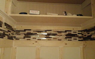 unused coat closet transformed into a welcoming mini mudroom , closet, diy, foyer, home improvement