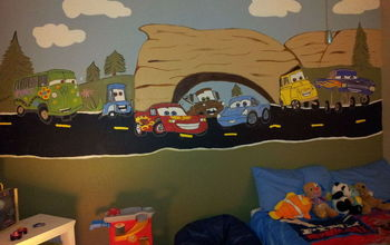 Boys Colorful and Fun Room!