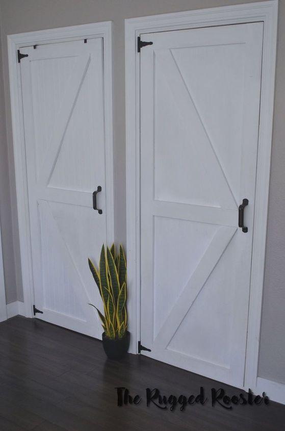 Diy Super Cheap Closet Doors Project Hometalk