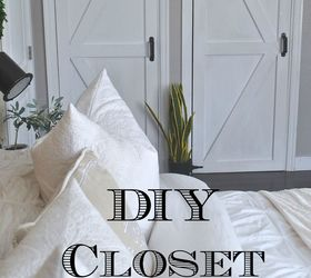 Super Cheap Closet Door Diy, Bedroom Ideas, Closet, Diy, Doors, How