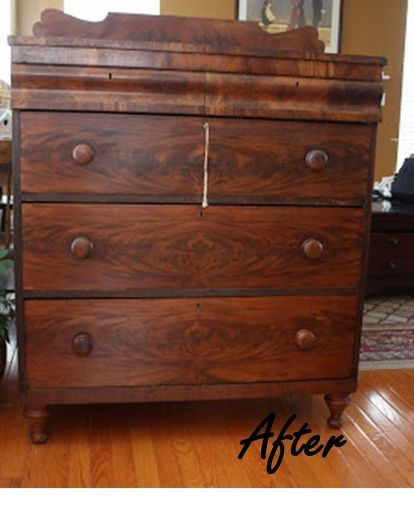 Early 1800 S Antique Dresser Painted Furniture