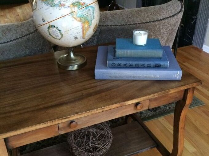 refinishing a table top the easy way, cleaning tips