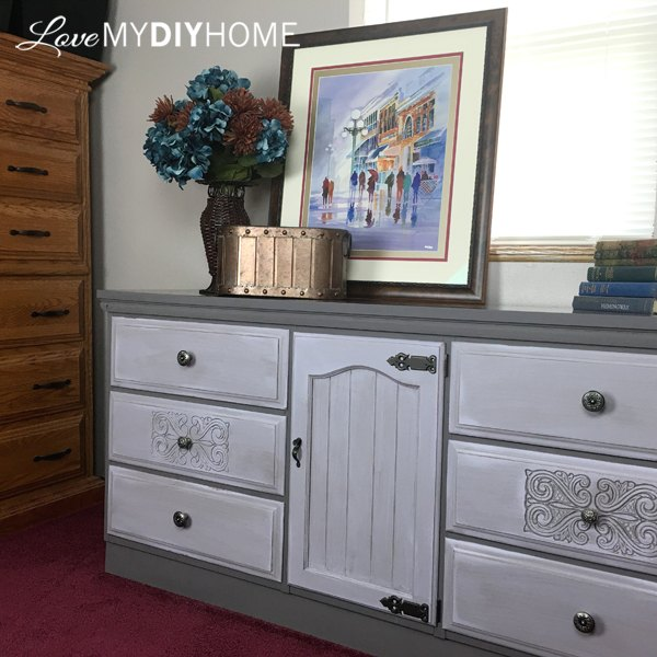 a family dresser rescue fit your style , bedroom ideas, painted furniture