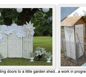 a living roof for our garden shed made from wedding doors gardening outdoor living & A Living Roof for Our Garden Shed Made From Wedding Doors | Hometalk