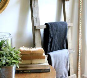 Make A Diy Blanket Ladder In A Weekend, Diy, Living Room Ideas, Woodworking