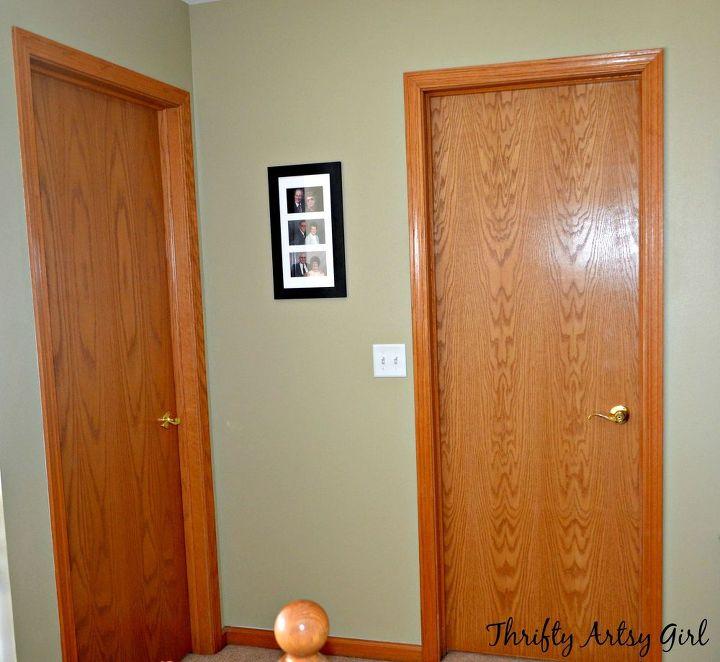 Hollow Core Bore to a Beautiful Updated Door: DIY Slab Door Makeover ...