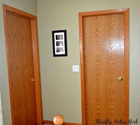 Perfect Hollow Core Bore To A Beautiful Updated Door Diy Slab Door Makeover, Doors,  How