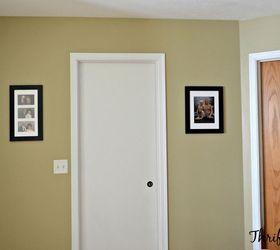 Hollow Core Bore To A Beautiful Updated Door Diy Slab Door Makeover, Doors,  How