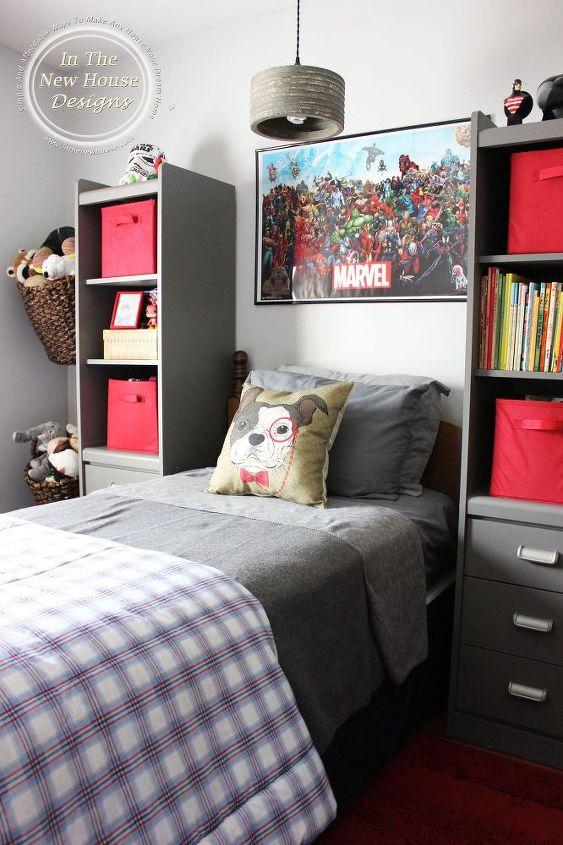 sophisticated industrial big boy bedroom reveal hometalk