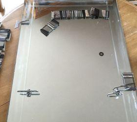 Bathroom Mirror Update, Bathroom Ideas, Home Decor, Wall Decor